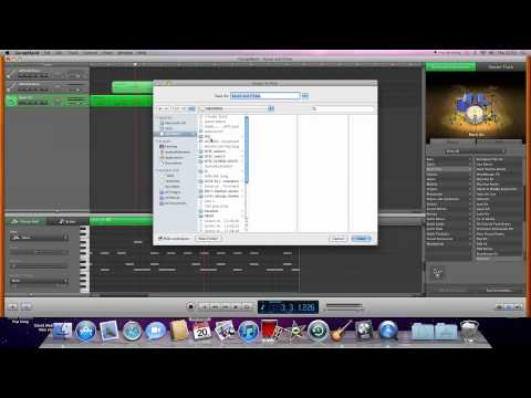 How to save garage band file as MP3