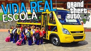 Video GTA 5 Mods da VIDA REAL - Pegando as Crianças para Levar a Escola download MP3, 3GP, MP4, WEBM, AVI, FLV Juli 2018