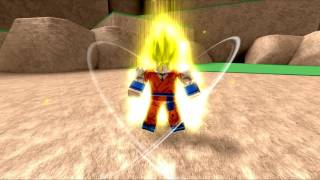 ROBLOX DBU Super Saiyan Showcase