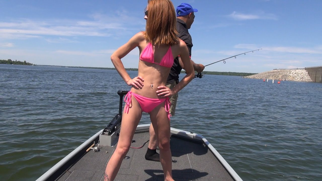 When a Model Goes Fishing - YouTube