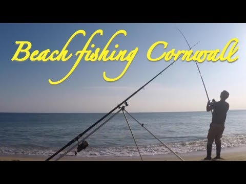 Beach Fishing Cornwall - A Night Of Dogging...