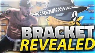 MOST WANTED 3V3 TOURNAMENT BRACKET REVEALED!!! NBA 2K16