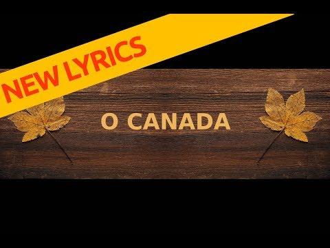 O CANADA National Anthem Lyrics New 2018 (english)