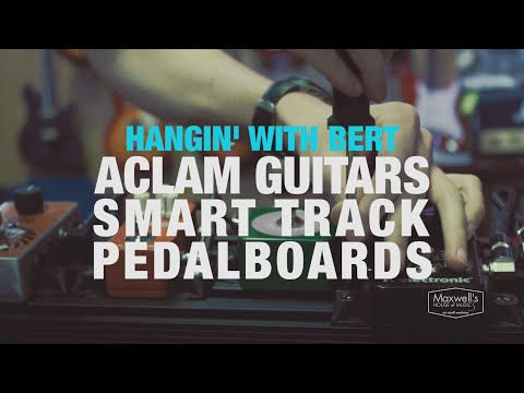 Aclam Guitars Smart Track Pedalboards