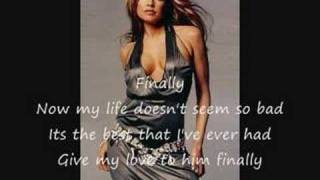 Finally by Fergie (With Lyrics)