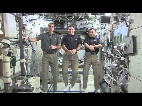 ISS Astronauts Talk With Students About Life in Space | NASA Science HD