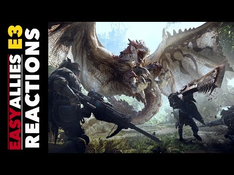 Monster Hunter: World - Easy Allies Reactions - E3 2017