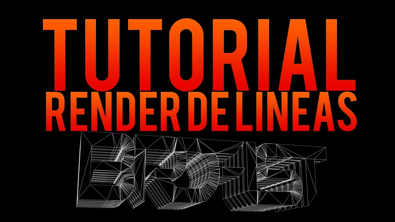 Cinema 4D Tutorial: How to Save 3-D Text as PNG and Put it in Photoshop (MEPRODUCTIONS31)