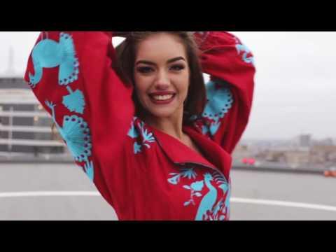 Видео-визитка для Miss World 2016: Мисс Украина-2016 Александра Кучеренко