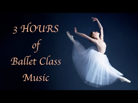 3 HOURS The best relaxing piano music for ballet class, stud