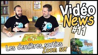 Little Town et les sorties jeux de société de début juin (VidéoNews #11)