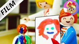 Playmobil Film polski | 3 MARKER DRAW YOURSELF CHALLENGE - Julian wkręca Emmę | Wróblewscy