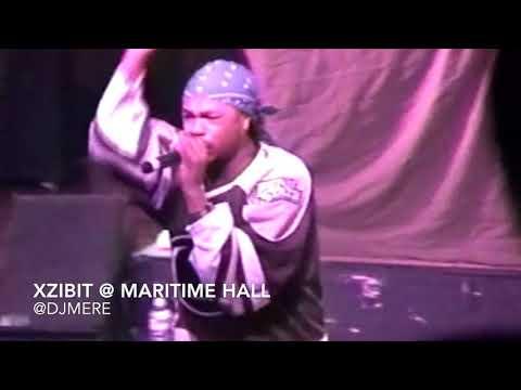 Xzibit @ Maritime Hall 2000