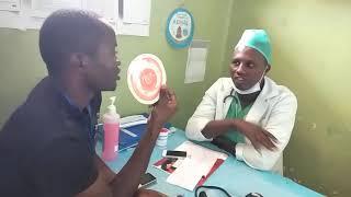 Kelkaj materialoj hospitalaj
