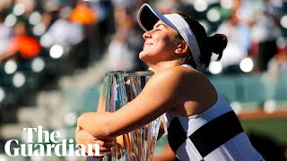 Bianca Andreescu: from teenage wildcard to 'Cinderella' of Indian Wells