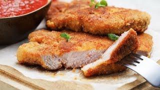 Простые отбивные из свинины. Отбивная из свинины быстро. Отбивные из свинины рецепт для всех.