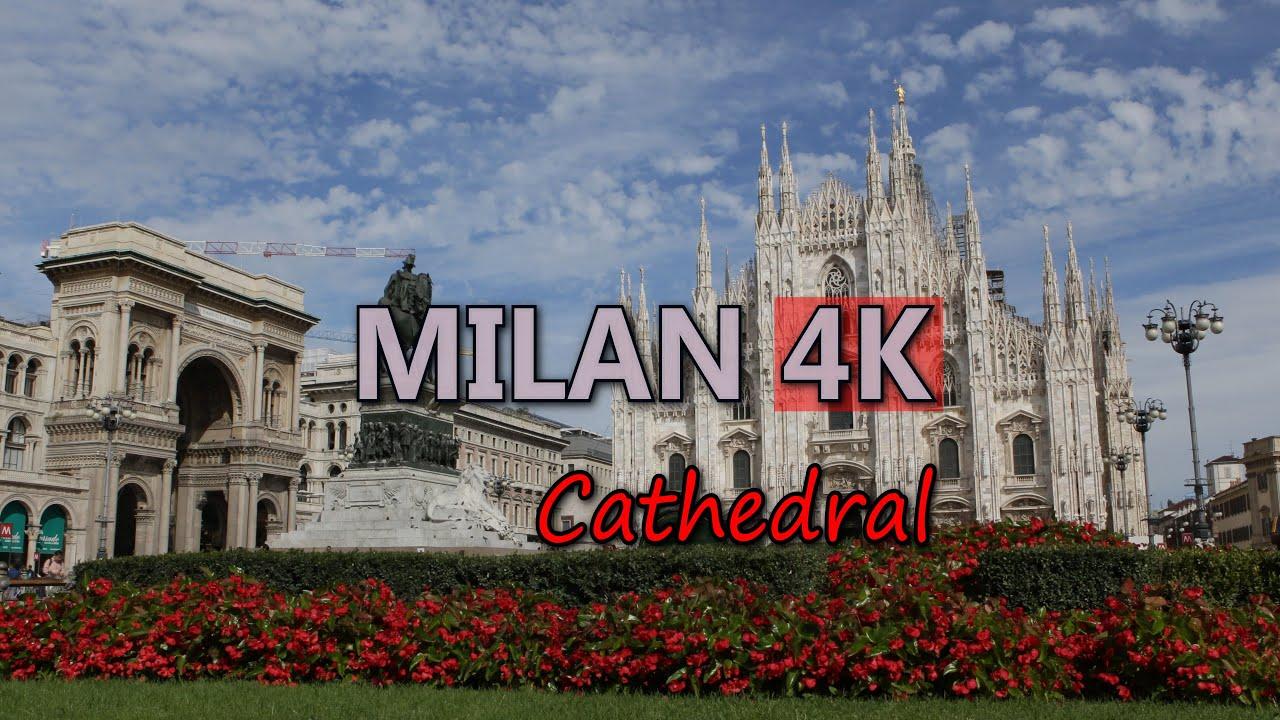 Ultra Hd 4k Milan Travel Cathedral Italy Milano Duomo