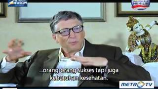 Video Face2Face with Desi Anwar episode  Bill Gates seg 1 download MP3, 3GP, MP4, WEBM, AVI, FLV Agustus 2018