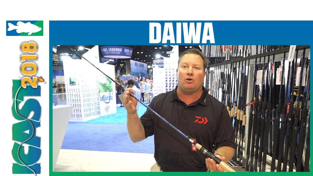 Icast 2018 Videos Daiwa Aird Coastal Inshore Casting And Spinning Rods