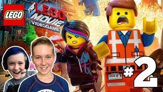 The LEGO Movie Videogame Gameplay Walkthrough Part 2