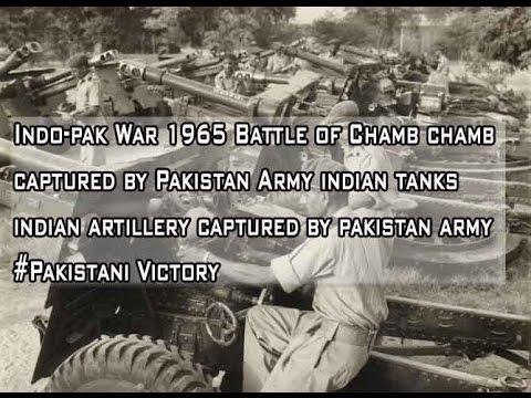 Indo-pak War 1965 Battle of Chamb chamb captured by Pakistan Army