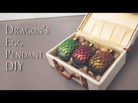Game Of Thrones-inspired Dragon Egg Pendant