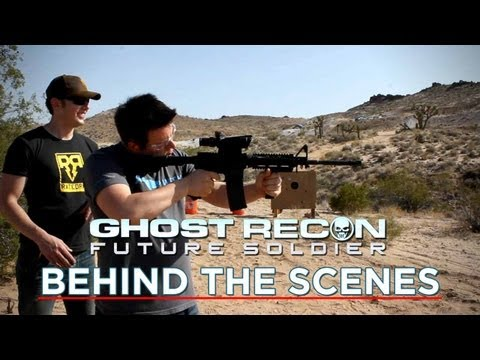 IRL Ghost Recon Future Soldier ! Thermal Scopes, UAVs, Richard Ryan and PhillyD!