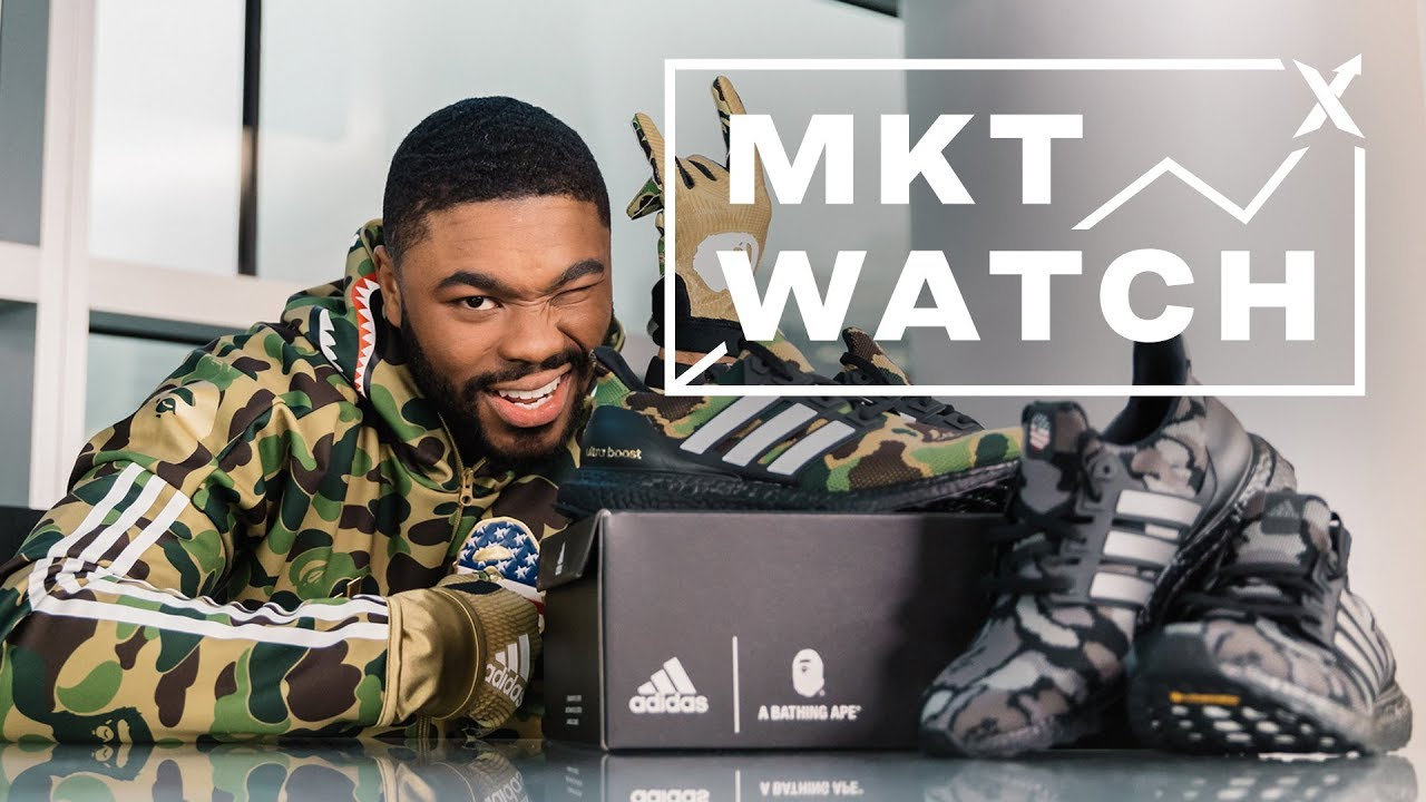 b85b72b4 StockX MKT Watch: Boosts Bounce Back, BAPE Plays Football, and Off-White  90s Arrive