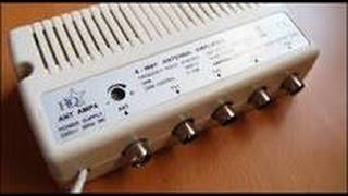 installation d'un ampli tv et d'un répartiteur quattre sorties
