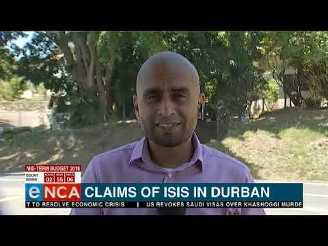 Update: The latest from the alleged ISIS situation in Durban