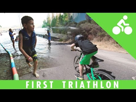 Plant Based 5 Year Old WINS His First Triathlon