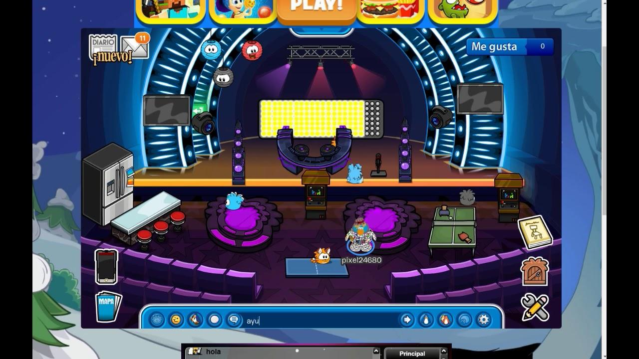 como poner musica en free penguin