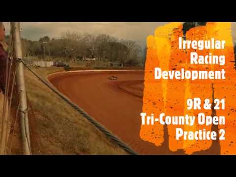 Tri County Racetrack Open Practice Session 2 - 9R and 21 - FWD March 26th 2019