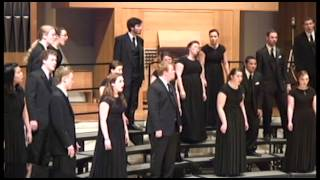 "University of Oregon Chamber Choir: ""Let Me Fly"""