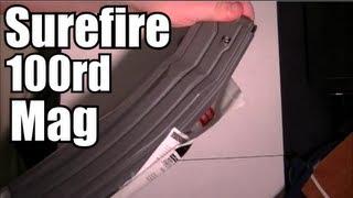 Surefire 100 rd Magazine - HOWTO disassemble