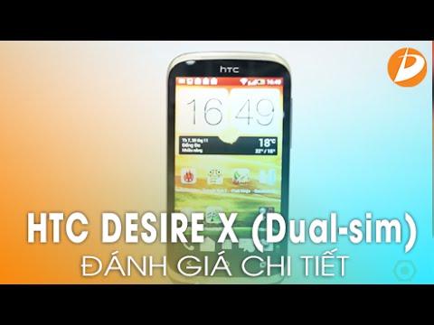 HTC DESIRE X (Dual-sim) - Đánh giá chi tiết.