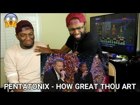 Pentatonix - How Great Thou Art (feat. Jennifer Hudson) (REACTION)
