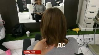 Наращивание волос на каре (качественно и недорого!)