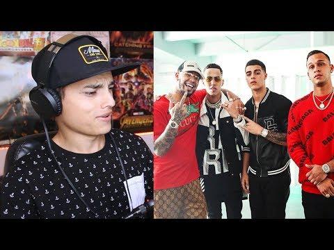 REACCIÓN A Solas Remix - Lunay x Lyanno x Anuel AA x Brytiago x Alex Rose ( Video Oficial )