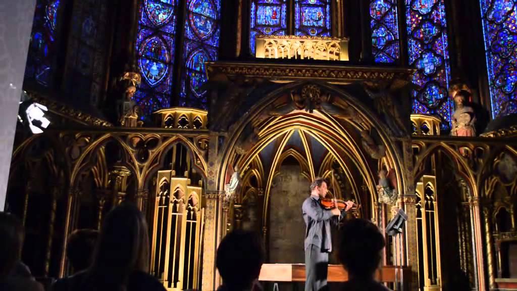 La Sainte Chapelle violin concert Paris 2013 YouTube