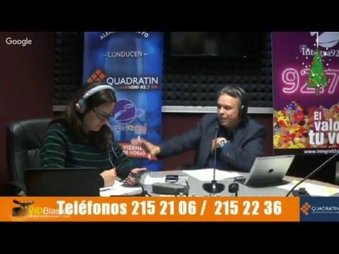 Quadratin Radio 8 Diciembre 2015