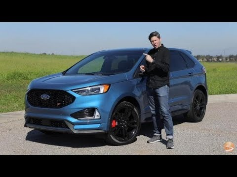 2019 Ford Edge ST First Drive Video Review