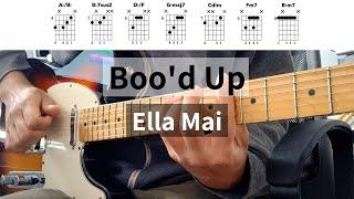 Boo'd Up Guitar Tutorial - Ella Mai