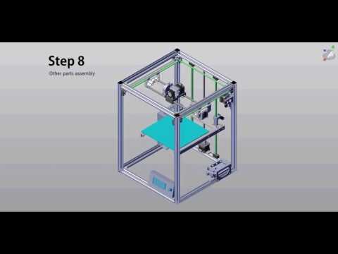 hqdefault flyingbear p902 metal 3d printer kit assembly 08 youtube  at webbmarketing.co