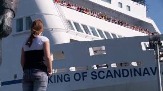 King of Scandinavia Cruiseferry leaving port