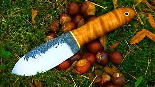 How to make a nessmuk trapper knife