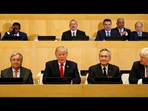 Il debutto di Donald Trump alle Nazioni Unite