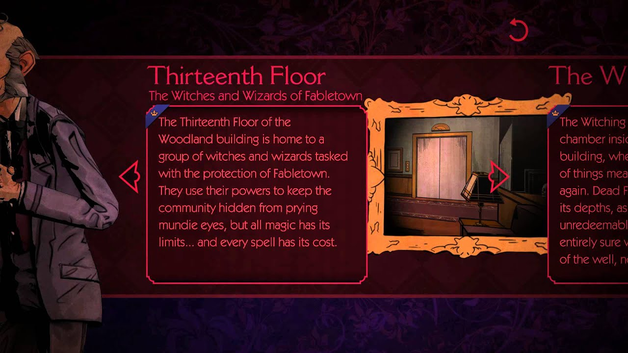 the wolf among us book of fables thirteenth floor youtube. Black Bedroom Furniture Sets. Home Design Ideas