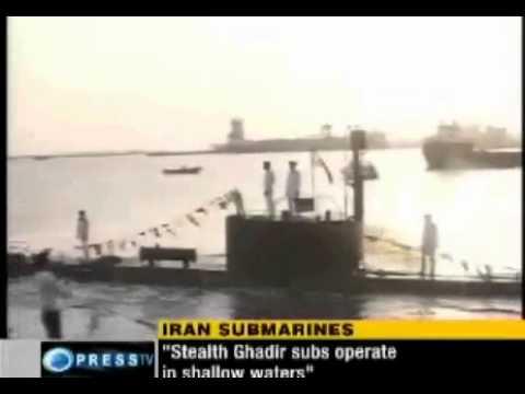 Ghadir class mini submarines join Iranian Navy
