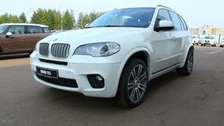 2012 BMW X5  M sport package. Start Up, Engine, and In Depth Tour.
